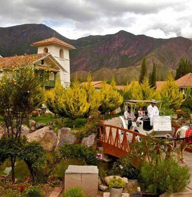Hoteles en el Valle Sagrado Cusco