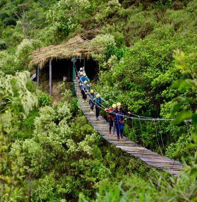 Inca Jungle 4 dias 3 noches