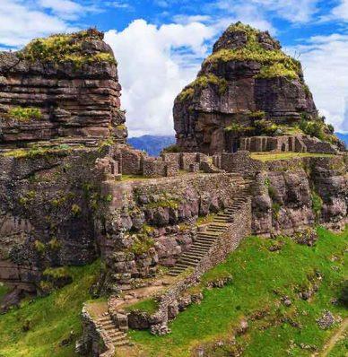 Tour Waqrapukara 1 dia desde Cusco